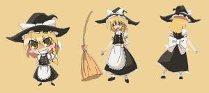 Marisa Kirisame, dueña de su propia tienda mágica y ladrona a medio tiempo