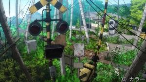 Más ruinas sobre Tokyo-3.