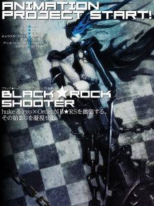 """Black Rock Shooter"" al anime"